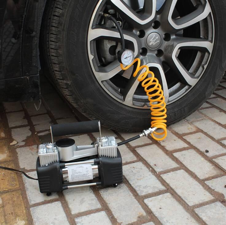 Bơm Lốp Ô Tô Miniphụ kiện cần thiết cho xe của bạn