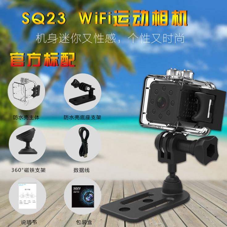 Camera Hành Trình xe máy Siêu Nhỏ SQ23