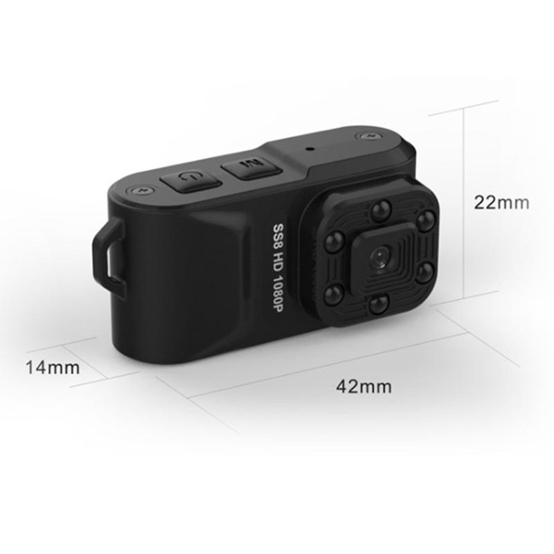 Camera hành trình siêu nhỏ SS8 FHD 1080P mini